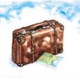 旅行鞄と地図